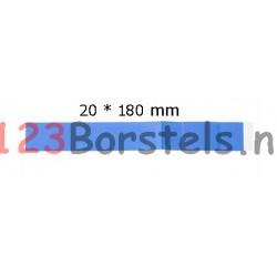 Doos á 100 stuks Detecteerbare Pleister Blauw 20*180 mm