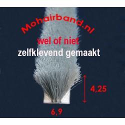 Mohair Grijs, hoog 4,25 , rug 6.9 (keuze)