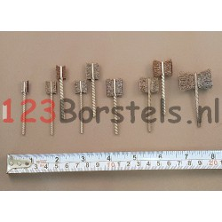 "GBF ""vlinder"" borstels in diverse diameters"