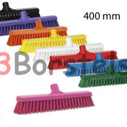 Hygienische combi veger 400 mm Hard/zacht (Vikan)
