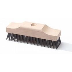 Stalen luiwagen / bezem houten kap (40400560)