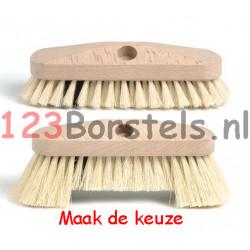 LUIWAGEN vulling Fiber houtenkap (keuze met of zonder baard