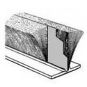 Mohair Zwart hoog 6, rug 4.8 + waterfin (P4-064PZN) (waterkering)