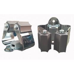 Prax steelklem grijze rol 28-38 mm verenstaal (20199263)