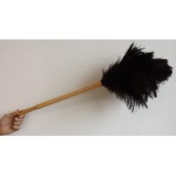 PLUMEAU struisvogel VEREN Lengte steel 45cm (4 Kransen) (20198415L4)