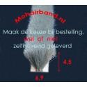 Mohair Grijs, hoog 4½ , rug 6.9 (uw keuze is: