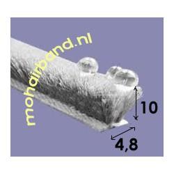 Mohair P4-1003PG Grijs 10 mm hoog