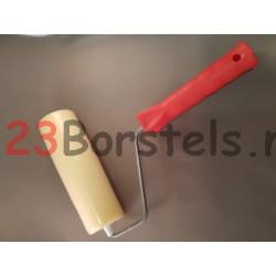 Schuimroller 18 cm breed met beugel