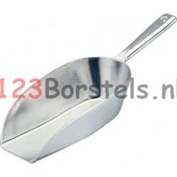 Winkelschep aluminium ± 335 gram - 410 ml