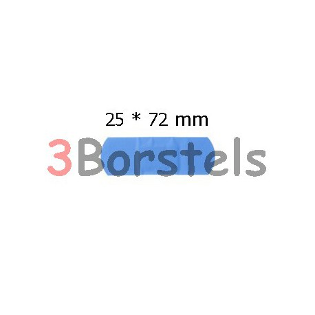 Doos á 100 stuks Detecteerbare Pleister Blauw 25*72 mm