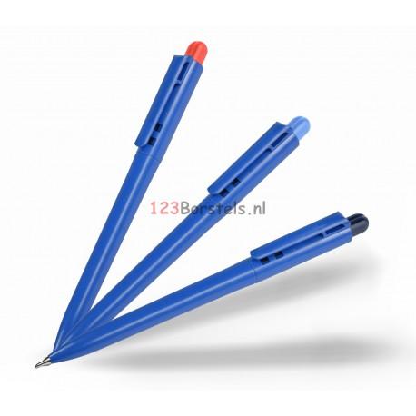 Metaaldetectie pen blauwe inkt+clip Model balpen