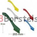 Precisieborstel in kleur 205 x 20 mm Nieuw Model (afwaskwast)