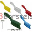 Smalle handborstel 5 kleuren 270x 20x45 mm