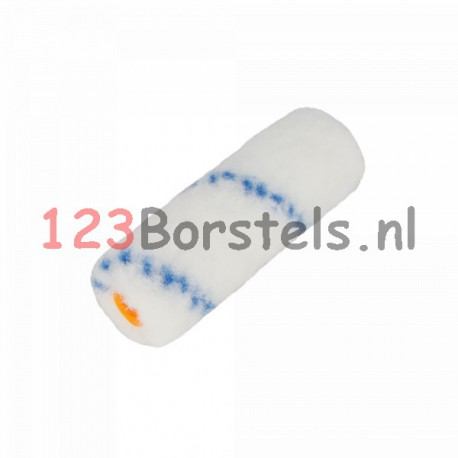 Nylon roller 110 mm breed,  kern Ø 15 , totale diameter ± Ø 34 mm