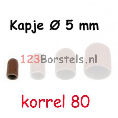 100 stuks SLIJPKOP RONDE TOP  ø 5 of ø 7 mm Kies welke grofte