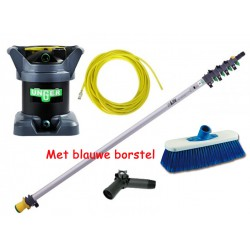Hydro power set 6 Meter + Di kit + slang en blauwe borstel