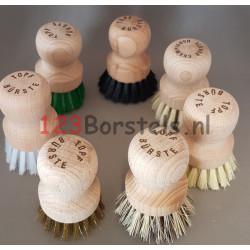 Potborstel- maak de keuze welke vulling (type afwaskwast)- Topf borstel