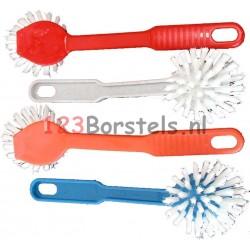 Afwaskwast Plastic diverse kleuren