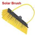 Hoekborstel NL40 cm voor zonnepaneel  in Zwart of Geel Uw keuze :