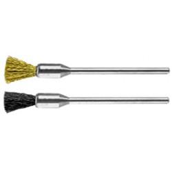 Mini penseel borstel Ø 5 mm voor Dremel staal 0.12