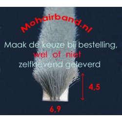 Mohair Grijs, hoog 4½ , rug 6.9 (P6-0453PG) (keuze)
