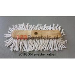 Houten Zwabber met KATOEN  300 mm (20198064)