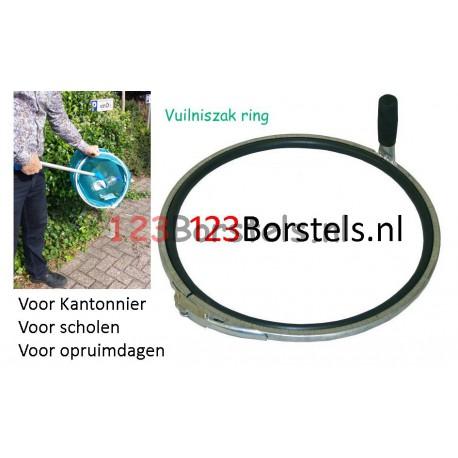 VUILNISZAK RING METAAL voor zwerfvuil op te ruimen  (27174999)